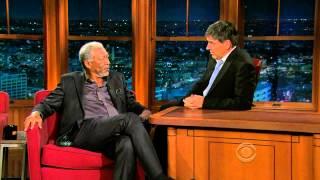 Late Late Show with Craig Ferguson 5/3/2010 Morgan Freeman, Kate Mara