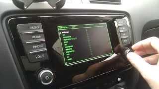 Octavia A7 Green Menu