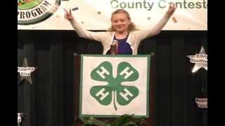 2013 Tropicana Speech Contest