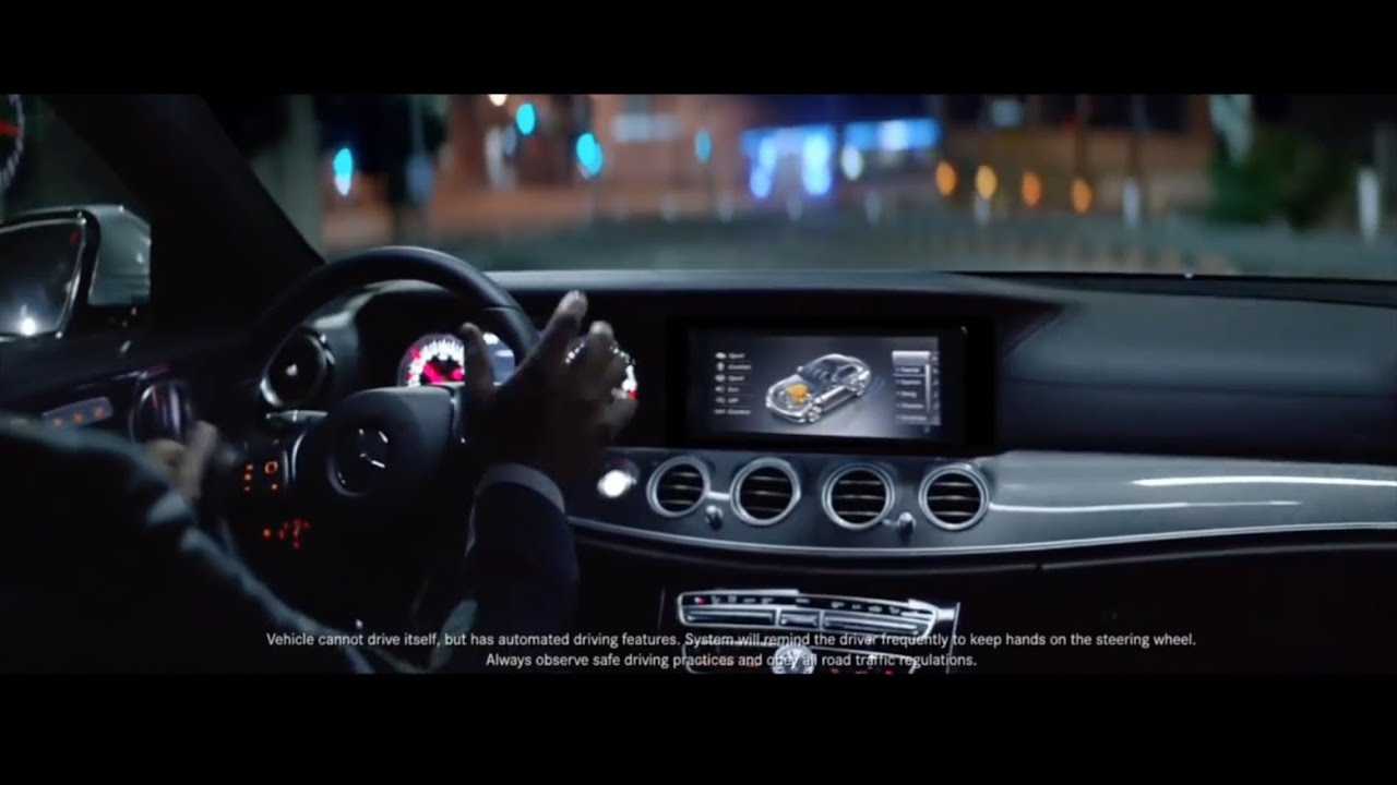 Mercedes benz 39 the future 39 tv ad banned doovi for Comercial mercedes benz