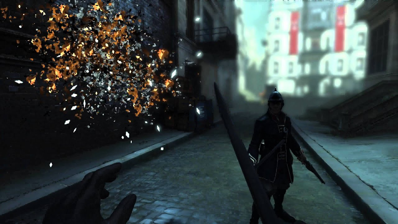 Dishonored Wall Of Light Ai Glitch Youtube
