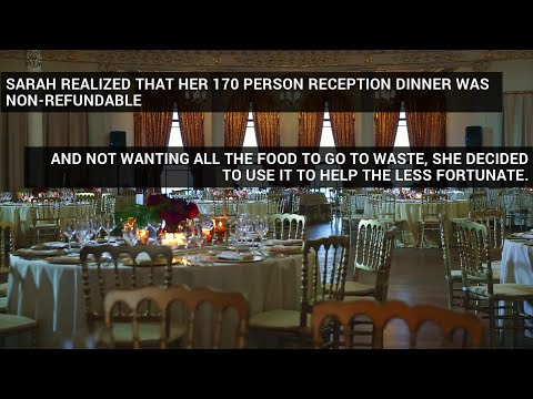 Bride-To-Be Calls Off Wedding, Invites Homeless To Her Reception