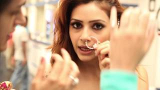 Make-up Artist Pakkhi Pakhuja - Real Women Love Anmol' Ad Campaign Shoot For Anmol Jewellers