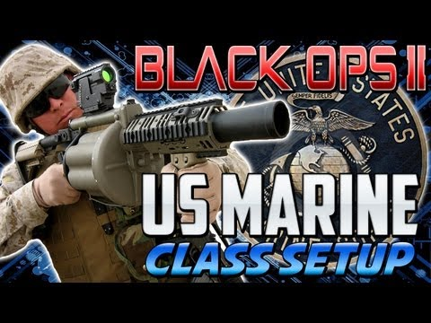 """BO2 """"US MARINE"""" - Class Setup """"FIRST TO FIGHT"""" (Black Ops 2) """"Call of Duty"""""""