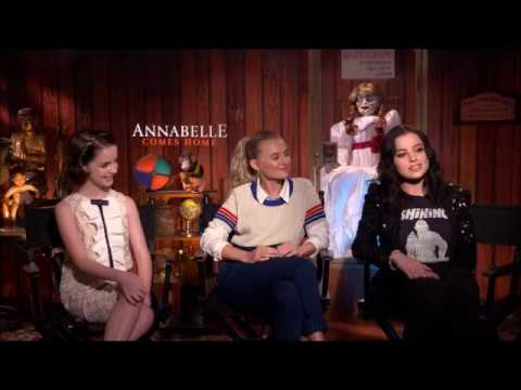 Annabelle Comes Home: Interview with Mckenna Grace, Madison Iseman and Katie Sarife
