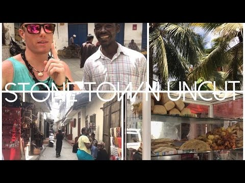 Sights & Sounds of Stone Town 🌴🇹🇿🌍 UNCUT LIVE Walking Tour (