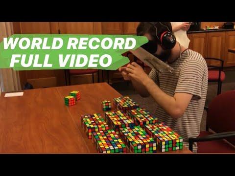 59/60 59:46 Multi-Blind World Record FULL VIDEO