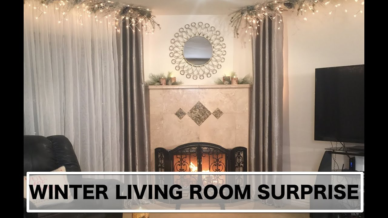 Interior Designing For Living Room Interior Design Winter Living Room Surprise Makeover Youtube