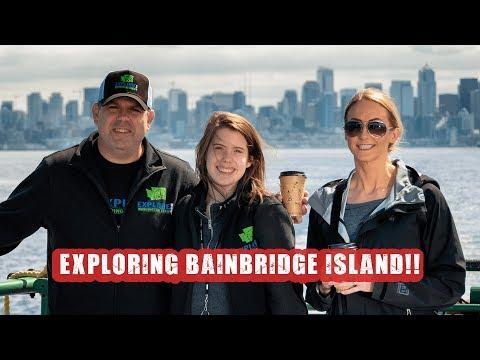 Exploring Bainbridge Island - Pizza, Ice Cream, Ferry Rides And More!