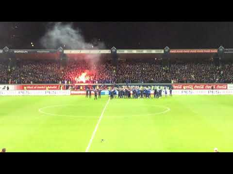 Iceland football chants after qualifying to World Cup.
