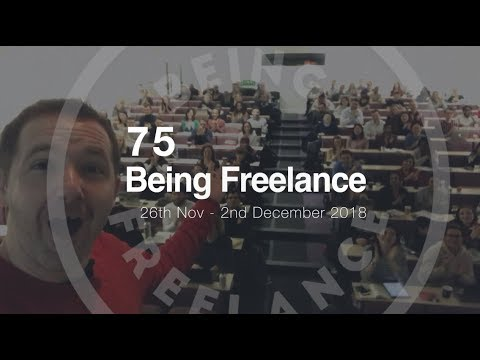 5 years since quitting my job - 75 Being Freelance Vlog