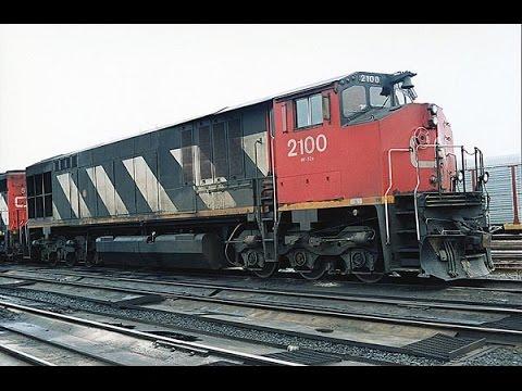 CN's HR 616s 1992 - 1998