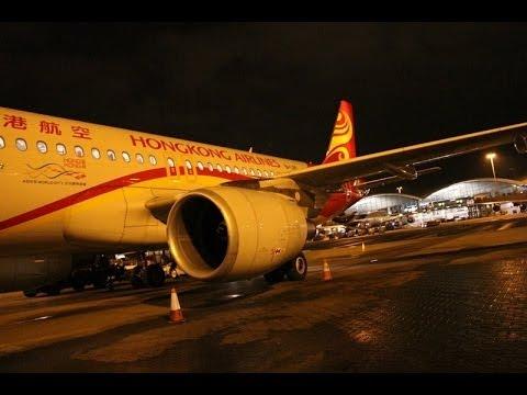 Hong Kong Express HKG → KIX(OSAKA) Flight A320 香港エクスプレス 香港→関空