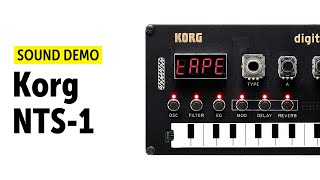 Korg NTS-1 Sound Demo (no talking)
