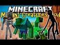 Criaturas mutantes en mcpe!! - mutant creatures mod minecraft pe 0.14.0 (minecraft pocket edition) android