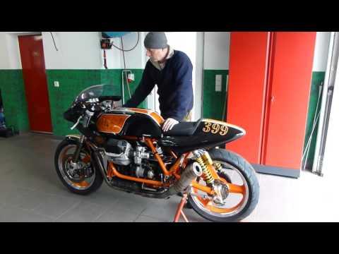 Soundcheck ohne DB Eater   Classic Racer Moto Guzzi   Le Mans