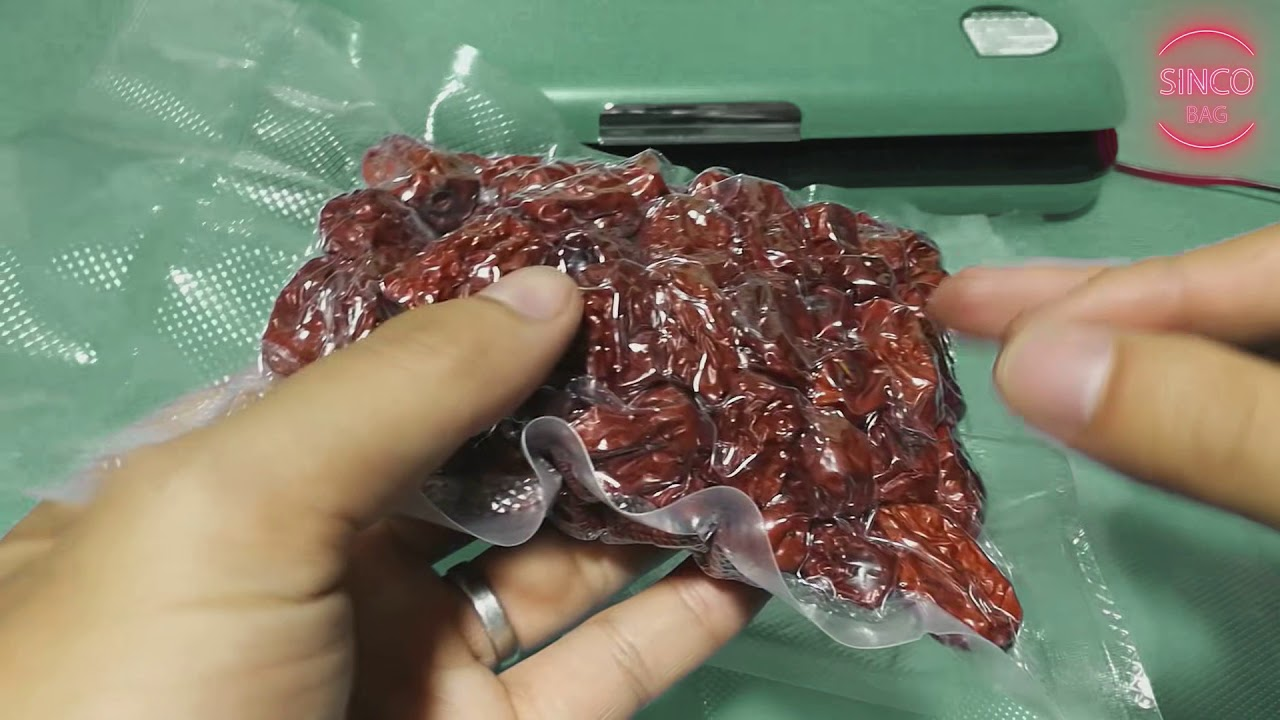 Heat Shrink Plastic Bag Vacuum Seal Wrap