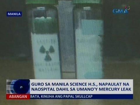 Saksi: Guro sa Manila Science H.S., napaulat na naospital dahil sa umano