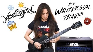 Wintersun - Time Cover Solo (Garrett Peters)