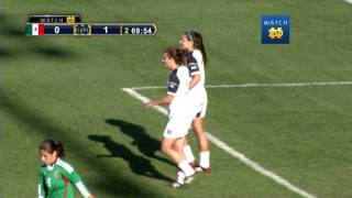 Morgan Andrews Heel Flip Against Mexico