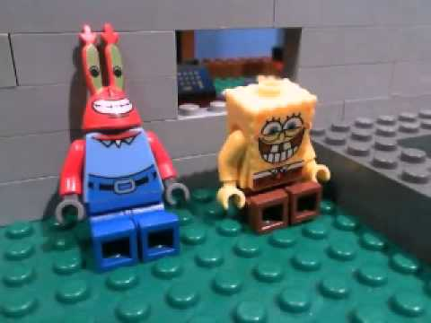 Lego Spongebob Clip: Nasty Patty