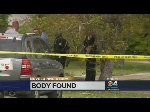 Body Found Behind Miami Gardens Home