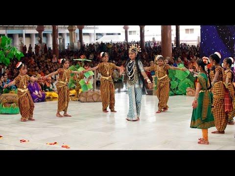 DATTATREYA - Drama presentation by the bal vikas children from Karnataka - Oct 04 2015