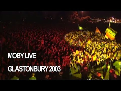 Moby 'Feeling So Real' Live at Glastonbury