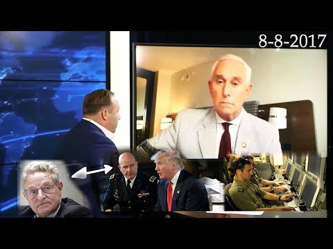 Roger Stone Breaking NSA Gen. McMaster caught via Israeli Intel reporting to George Soros
