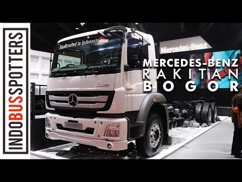 MERCEDES-BENZ AXOR 2528 R INDONESIA   First Impression Review