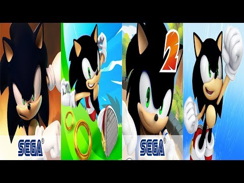 Sonic Forces Speed Battle SHADOW VS Sonic Dash SHADOW VS Sonic Dash 2 SHADOW VS Sonic Jump SHADOW