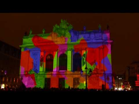 Vidéo Mapping Festival Lille 2018