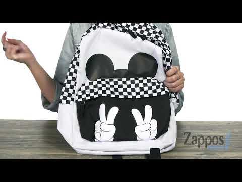 Vans Mickey's 90th Checkerboard Mickey Realm Backpack SKU: 9188277