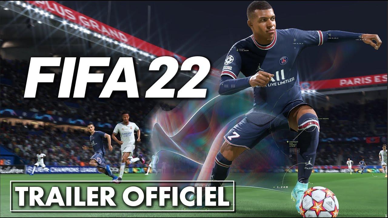 FIFA 22 : nouvelle bande-annonce OFFICIELLE ! ⚽