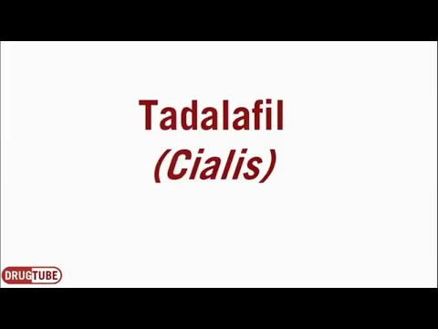 Tadalafil (Cialis) for Erectile Dysfunction - 5mg, 10mg, 20mg - Uses, Dosage & Side Effects from YouTube · Duration:  5 minutes 10 seconds