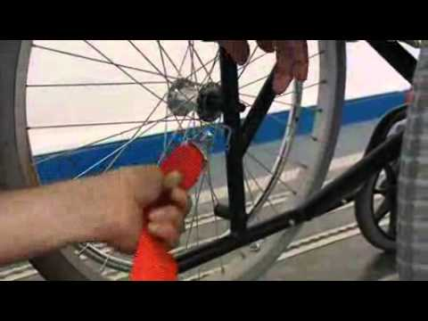 Wheelchair Tie Downs Unwin Safety Systems Youtube