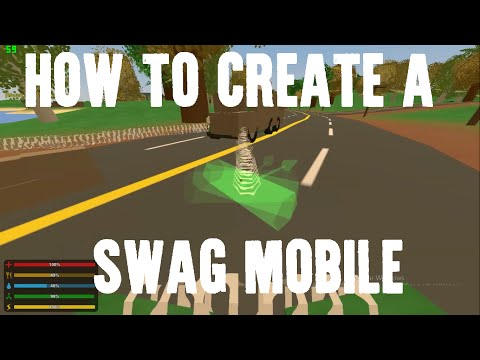 Unturned PvP - How To Create A Swag Mobile
