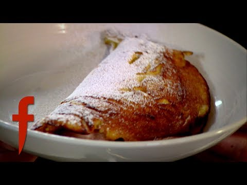 Soufflé Pancakes With a Rhubarb Compote | Gordon Ramsay's The F Word Season 4