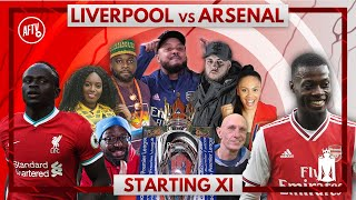 Liverpool vs Arsenal | Starting XI Live
