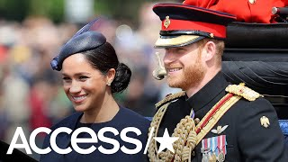 Meghan Markle Shines At Trooping The Colour In First Royal Event Since Welcoming Baby Archie | Acces