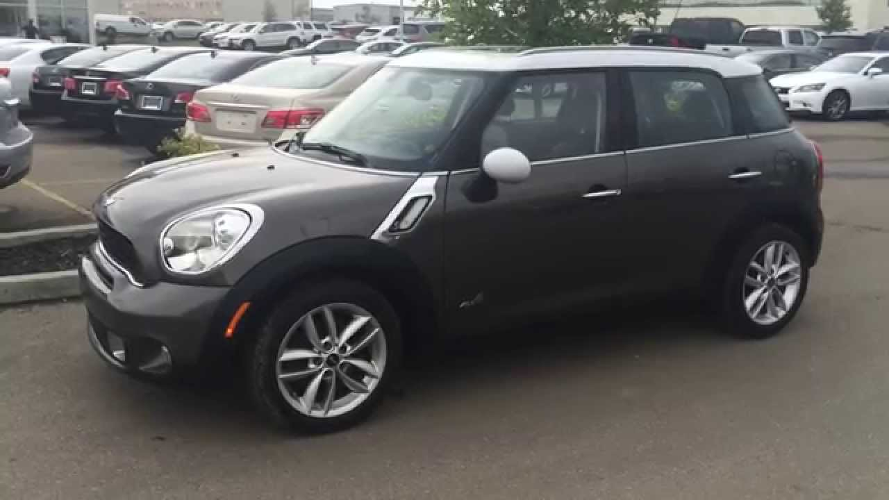 Pre Owned 2017 Mini Cooper Countryman Awd 4dr S All4 West South Edmonton You