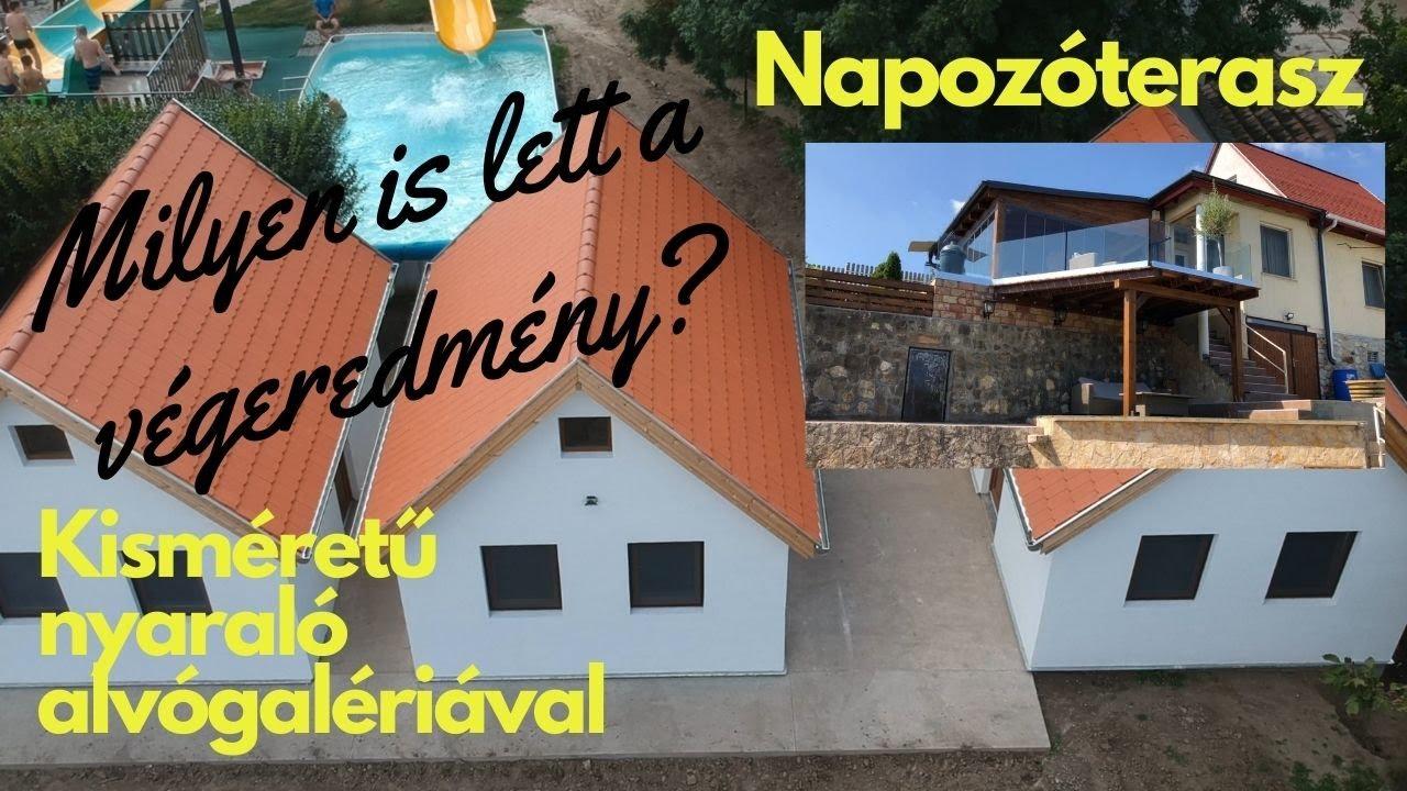 Könnyűszerkezetes házak külső szigetelése és a belső párnafa rendszer - ELKÉSZÜLTEK A HÁZAK!
