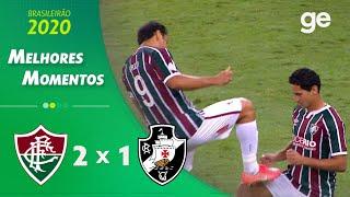 FLUMINENSE 2 X 1 VASCO | MELHORES MOMENTOS | 6ª RODADA BRASILEIRÃO | ge.globo