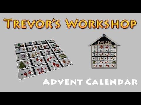 Wood Whisperer inspired Advent Calendar