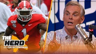 Colin Cowherd picks Week 4 college football in the Marquee 3 | CFB | THE HERD
