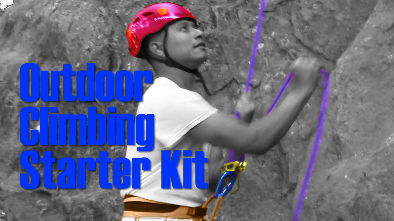 Outdoor Climbing Starter Kit  Gear to Need to Start Top Rope Climbing  7412402a189f