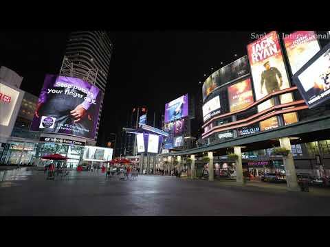 Yonge-Dundas Square | Toronto | Ontario | Canada | 4K Timelapse