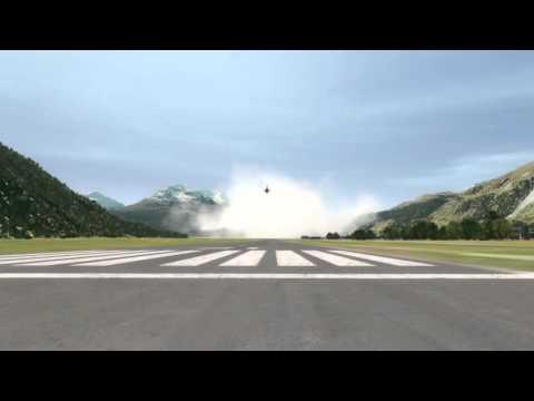 Funny F-18 Hornet Crash