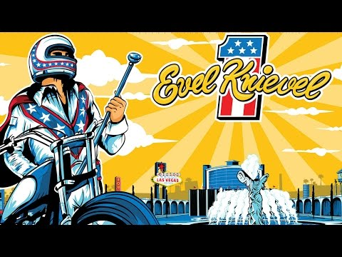 Evel Knievel Motorcycle Game / iOS GamePlay Trailer