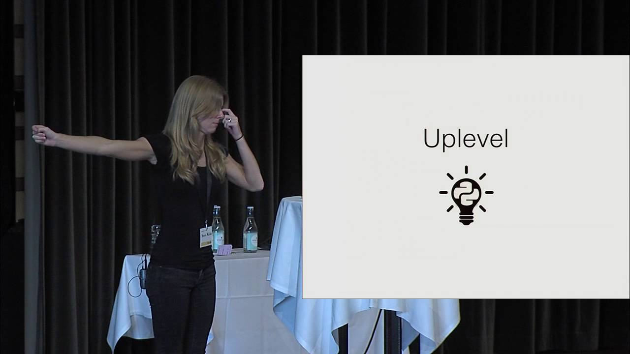 Image from Breaking the rules (Keynote)